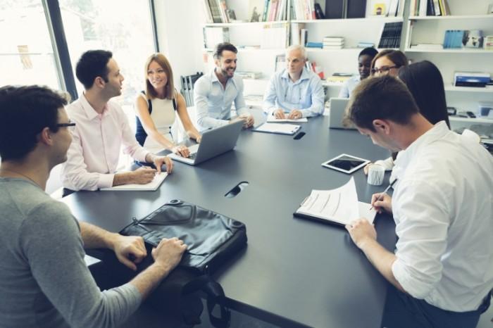 В «Центре Поддержки Предпринимательства» существует строгое распределение обязанностей.