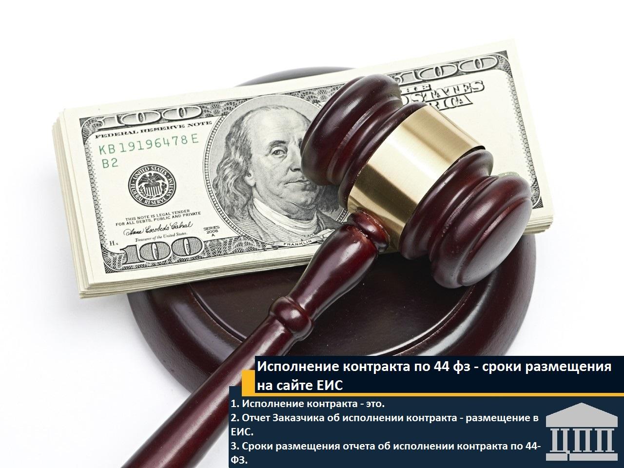 Сроки размещения контракта на сайте госзакупок по 44 фз